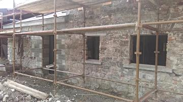 Ardrum House, Blarney Castle Estate Lime Restoration by Chris Daly Plastering