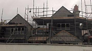New build, Kinsale (Twomey Construction) Chris Daly Plastering